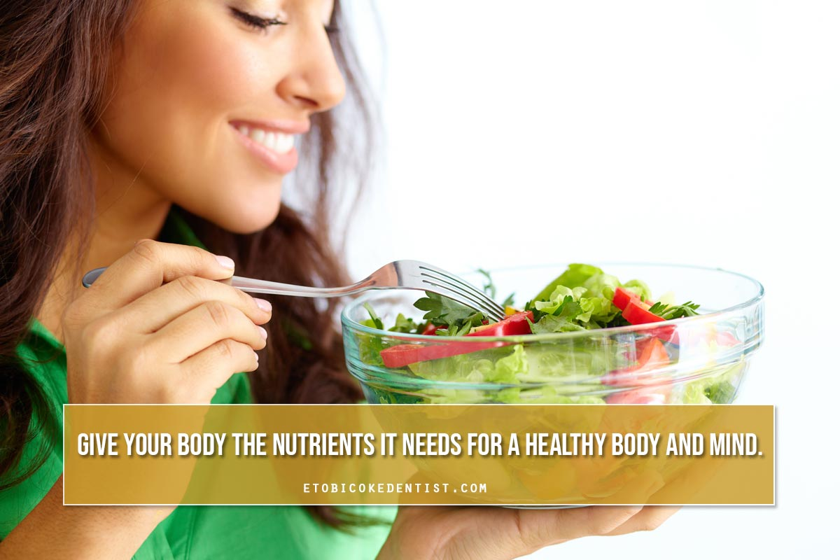 give your body a nutrient