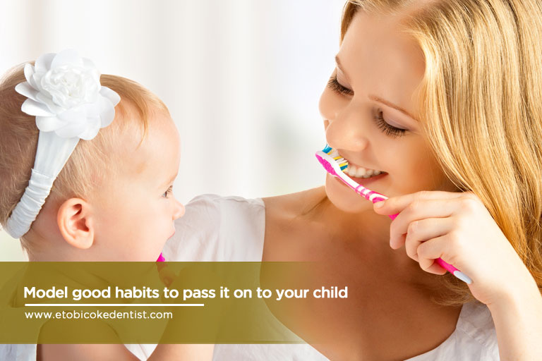 good habits to pass to your child