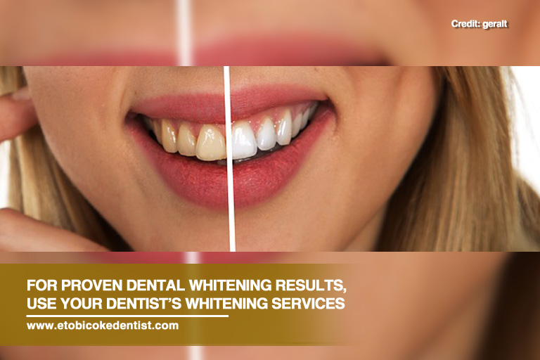proven whitening results