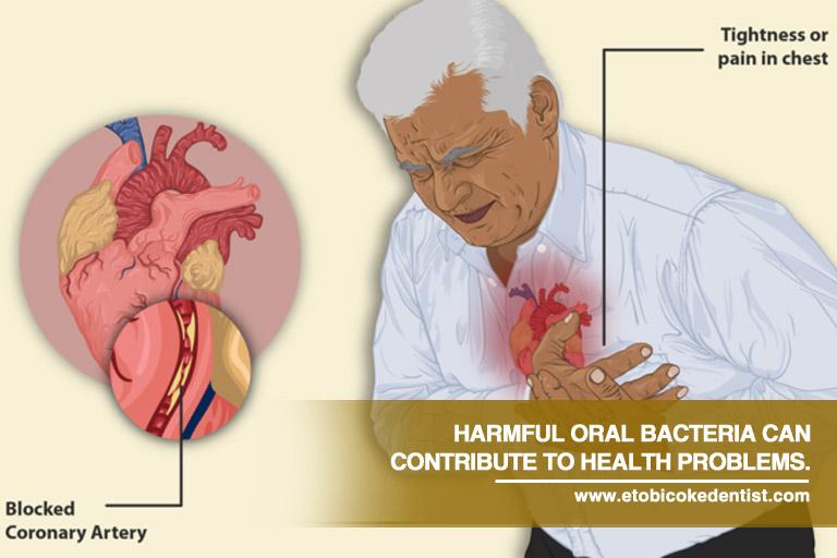 harmful oral bacteria