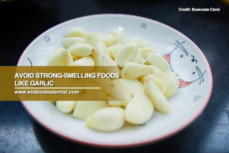 strong smelling food