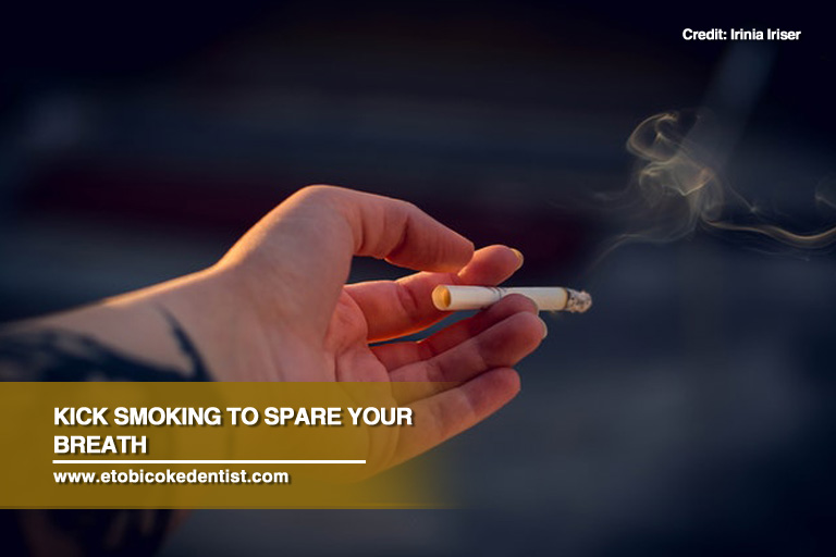 kick smoking